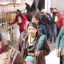Leider lassen sich die Tibeter nicht sehr gerne fotografieren...