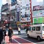 Unterwegs in Shibuya