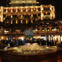 Eines der schönsten Hotels bei Nacht