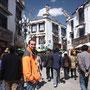 Im tibetischen Stadtteil von Lhasa