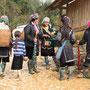 Von Anfang an mit einer riesigen Traube Black Hmong...