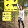 Nur wilde Kängurus haben wir noch nicht gesehen.