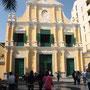 Die historische Altstadt von Macau