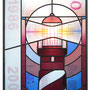 glas in lood geld kunstwerk. / stained glass money art
