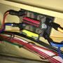 Der verbaute Sicherungskasten einer S51, ist nun fertig abgesichert