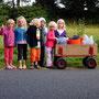 """Und wieder sind wir """" mit unseren Kindern auf dem Weg """" -diesmal zum Waldcamp"""