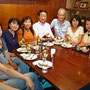 五反田のカフェで反省会