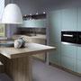cuisine haut de gamme esprit scandinave couleur bleu fjord par cuisine design Toulouse