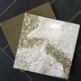 Many quartz countertop designs, such as Cambria Brightstone and Beaumont, feature sparkling gold.