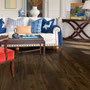 Vibrant colors and bright whites look bold and exotic on Hickory with the Acorn stain.
