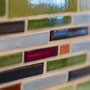 Order your own custom linear mosaic featuring your favorite colors!