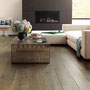 French Oak in Argent provides a soft, neutral base for this contemporary living room.