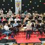 Das JBO mit dem Musikverein Ilz bei der GP für´s Frühjahrskonzert unter der Leitung von Manuela Andraschek!