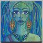 PEINT-TOI-BB1-La femme gelée (1/3) 30x30cm (acrylique sur toile)