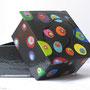 DECO-DIV-BOIT-DIS-001-Boîte disco 10x10x5cm (papier mâché peint à la main) - 20€