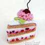 Вязаный торт. Автор Офицерова Светлана.