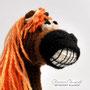 Вязаная лошадь. Автор Офицерова Светлана