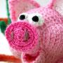 Вязаная свинка. Автор Светлана Офицерова
