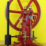 Otto Deutz stationär Gasmotor  von 1895 Dieser Motor ist einer der ersten Motoren in Europa die das Industriezeitalter eingeleitet haben. Nach dem Viertaktverfahren - Befeuert mit Stadtgas und versehen mit einer Glührohrzündung  Modell Maßstab 1:10