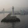 Blick in den Hafen von Jeju