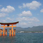 Hiroshima, Itsukushima, Shinto Shrine im Meer