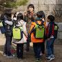 Schüler im Kaiserlichen Garten, UNESCO World Heritage, Seoul