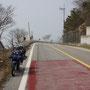 Südküste von Südkorea, traumhaft schön und arschkalt...