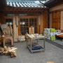 Innenhof, Museum und Werkstatt, Hanok Village, Seoul