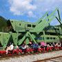 Stillgelegte Eisenbahnlinie auf koreanisch neu belebt