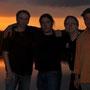"""Ein weiteres Highlight auf dem Sommerfest die Gruppe """"The Policemen's Sting, sie waren von der Location am See sichtlich beeindruckt"""