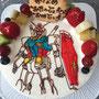 キャラクターケーキ イラストケーキ