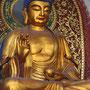 Buddha-Statue im Lingyin-Tempels