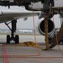 Abflugvorbereitung A340