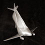 ERa Shoefly - The Silver Airline (2011) - sculpture + photography  60x40cm