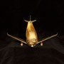 ERa Shoefly - The Golden Airline (2011) - sculpture