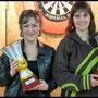 Coupe de France 2011 : 1ère Championne de France en Double Féminin (Hélène Jégouic / Nelly Le Moullec)