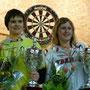 Coupe de France 2009 : Nelly Le Moullec (2ème) et Carole Frison (Championne de France)