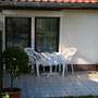 Terrasse vom Gartenzimmer