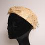 リボントーク tête salon de chapeau