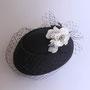 白花のトーク tête salon de chapeau