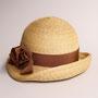 アンバランスクロッシェ(GR)tête salon de chapeau