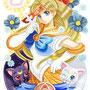 ◆デジタルイラスト色々◆美少女女神セーラーヴィーナス-Gold-(美少女戦士セーラームーン)※二次創作