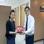 Mr. Yasuyuki TANAKA, Managing Director, Dee Staff Recrument Co.,Ltd