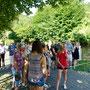 Der Kirmesbaum wurde am Samstag gestellt
