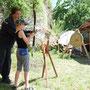 Mittelalterliche Spiele für Kinder