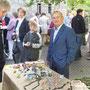 30 Jahre Weltladen Bruchsal Stand beim Kirchenkaffee der Lutherkirche
