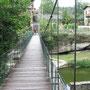© Traudi  -  Hängebrücke in Rupit, Katalonien