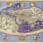 プトレマイオスの地理学にもとづき、アルムスハイムのヨハネス・シュニッツァーが製作した地図