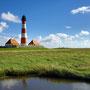 Aus der Serie: Von jedem schon geknipst, nur noch nicht von mir: Der Leuchtturm von Westerhever in Nordfriesland