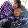 どうしても靴と一緒に写りたかったらしい。
